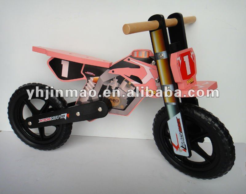 2015 newest child play wood walking bike kinds toys
