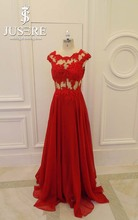 2015 Custom Made Sexy Aline Beads Ruched Capsleeve Flowing Long Chiffon Evening Dress With Sleeves