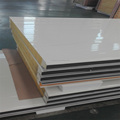 Steel metal building materials rock wool sandwich panel with high quality