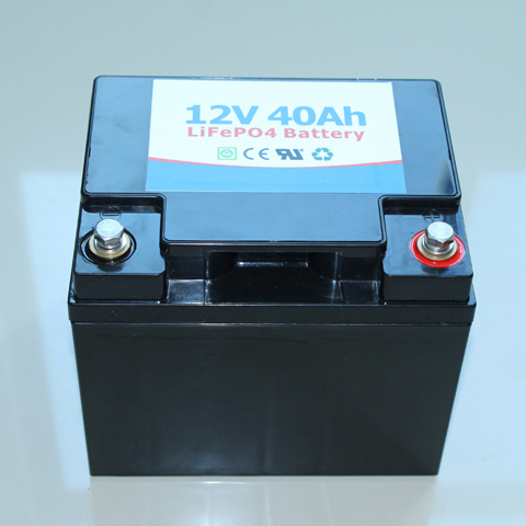SGS Approved Battery Factory LiFePO4 12V 40Ah Battery for PV, ESS, Backup System