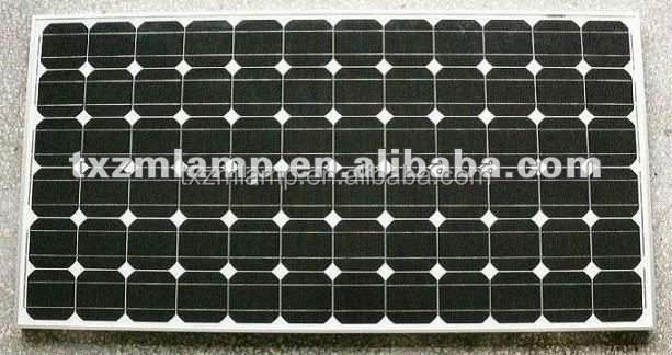 2014 black monocrystalline Silicon solar panel solar cells for sale