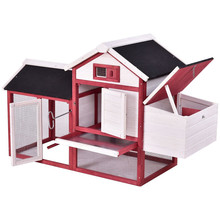 High quality Backyard Wooden Chicken Coop & Hen House