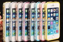 New Arrival Bling bling bumper case for iphone 5g 5s