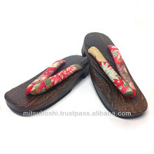 japan import always popular and timeless wooden geta sandals