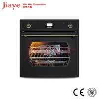 "24"" built in electric oven/black paint digital control bread roaster/bakery rotary oven JY-OE60K(D)"