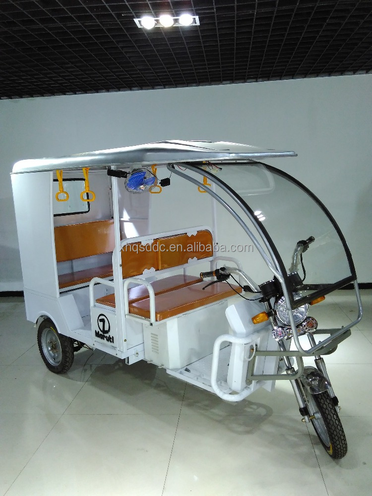 dc motor rickshaw electric solar panel rickshaw for passenger