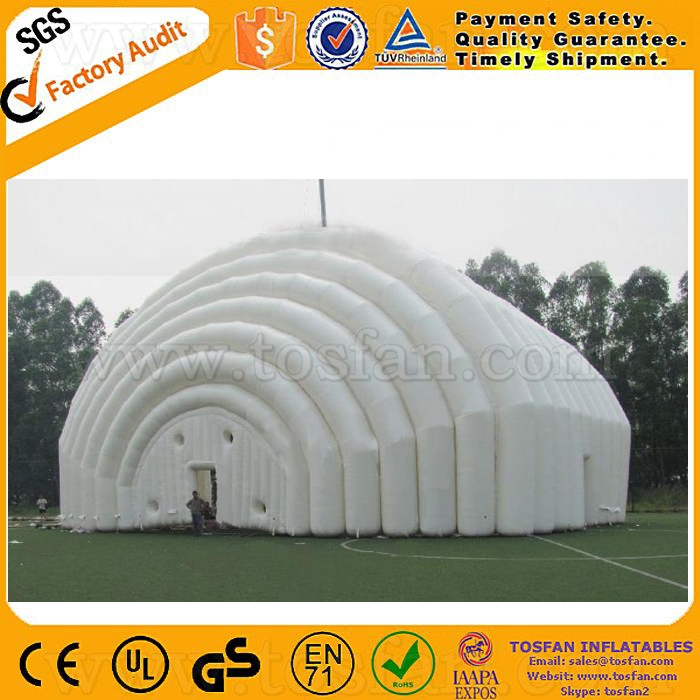 Dome inflatable tent for events giant inflatable building F4111