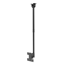 P40-1 Peacemounts Hight Adjustable Flip Down Motorized Ceiling TV Mount