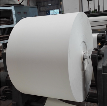 pe coated paper for ice cream cup, paper cup fan in roll