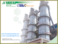Industry Furnace Metallurgy lime kiln - Calcination Temp.: 1100~1250 degree / Activity of Lime: more than 350ml/4N-HCl