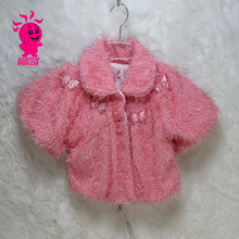 2015 latest baby clothes infant fake fur baby winter coat for 1-3years old children
