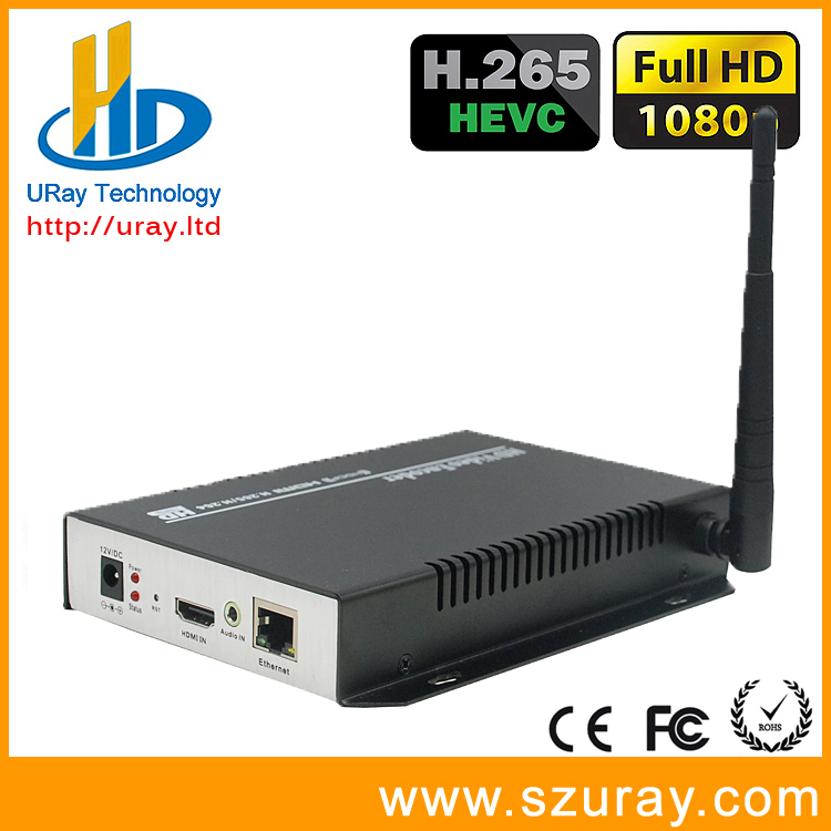 URay H265 / H264 HDMI IP Streaming Wireless Encoder For Live Streaming, IPTV