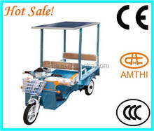 three wheel motorcycle scooter/three wheel electric bike/3 wheel/Covered electric tricycle , AMTHI