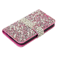 china cell phone super quality wallet diamond back cover case for samsung galaxy note 6