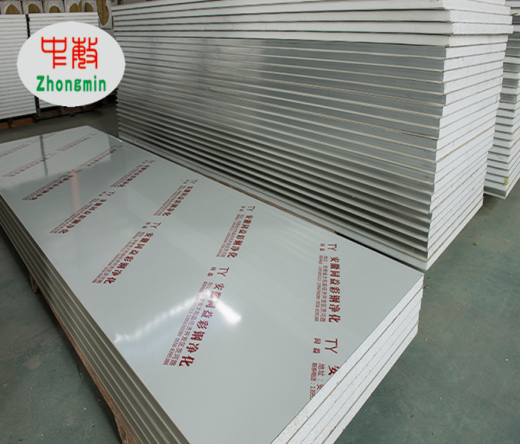 Manufacturer Directly Supply Interior Cement Insulation Foam Sheet Sandwich Panel