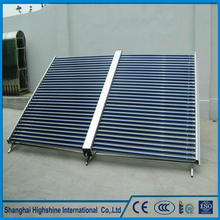 Custom logos swimming pool sun solar water collector Vacuum Tube non-pressure Direct Flow Project Solar Collector