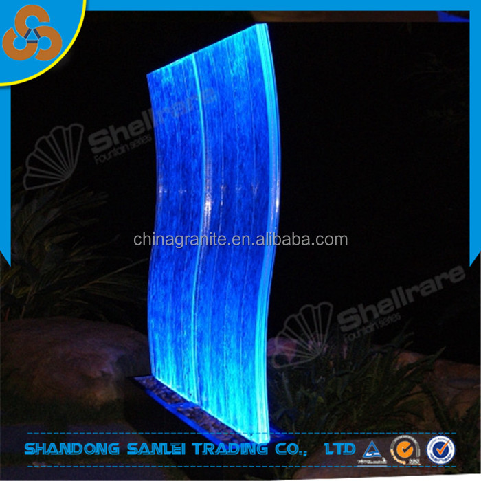 bubble wall, water feature led lights for sale