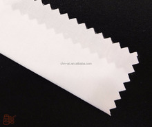 "T65/C35 45*45 133*94 59"" white plain fabric for girls shirt crease resistant breathe freely"