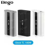 Large Stock Factory Price Original Eleaf iStick 100W TC Mod with Dual 18650 Rechargeable Battery