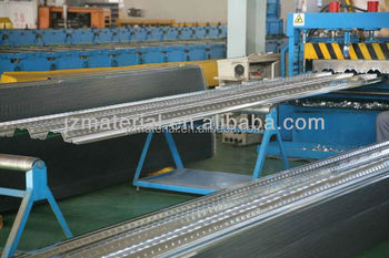 Low price galvanization G90 metal floor decking sheet 600mm/composite decking sheet/steel decking sheet OEM factory
