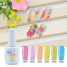 L&M Nail Gel Salon UV Glass Gel Nails Supply And Beauty Product