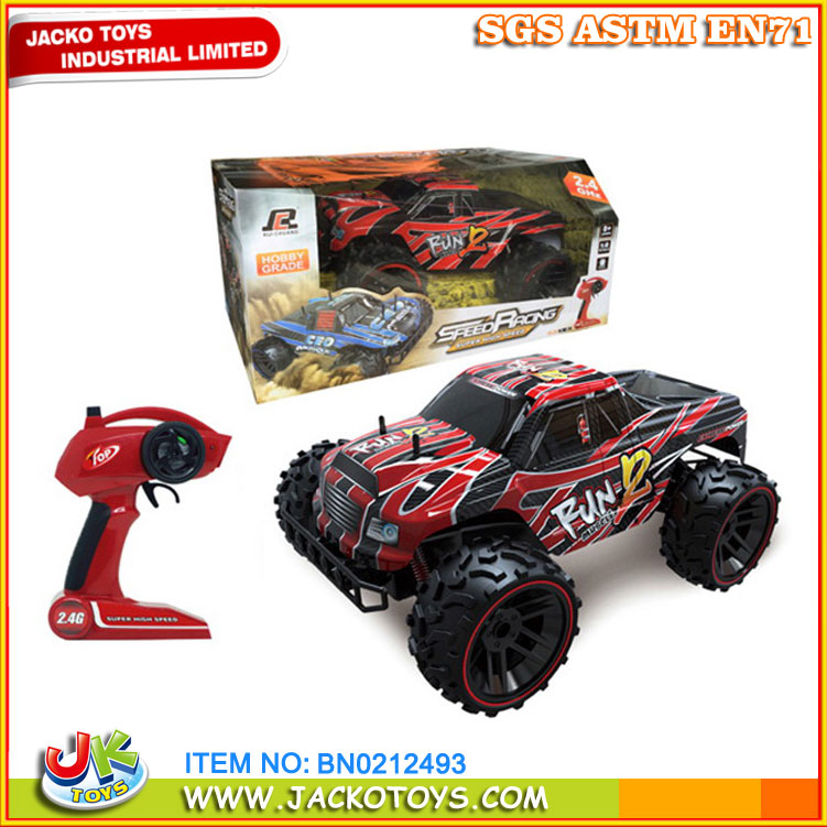 JK TOYS 2016 Off-road Buggy Truck 4WD RC Car Drift On Wilderness