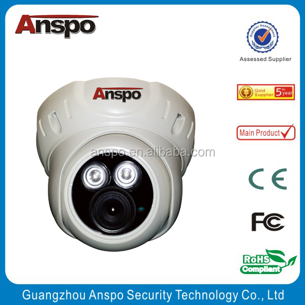 Smallest wire cctv cameras housing system besting with new technology AHD cctv camera