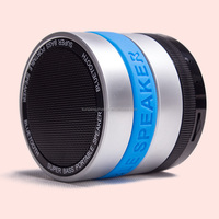 530 Metallic Mini Blue tooth Speaker Perfect Sound with Strong Vibration TF Card FM Radio