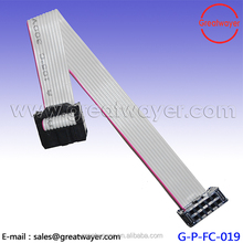 BELDEN 28 AWG 2mm Pitch 2x5 Pin 10 Pin Female 10 Wire IDC Flat Ribbon Cable
