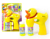 Hot summer toys cute yellow duck electric blow bubbles,plastic kids bubble set