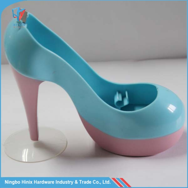 High-Heel Shoe Shaped Plastic Desktop tape dispenser and Holder