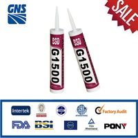 Anti fungus water resistant acetoxy silicone sealant