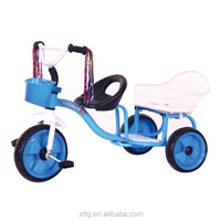 Factory Supply 8kg push power stroller 4 in 1 baby tricycle