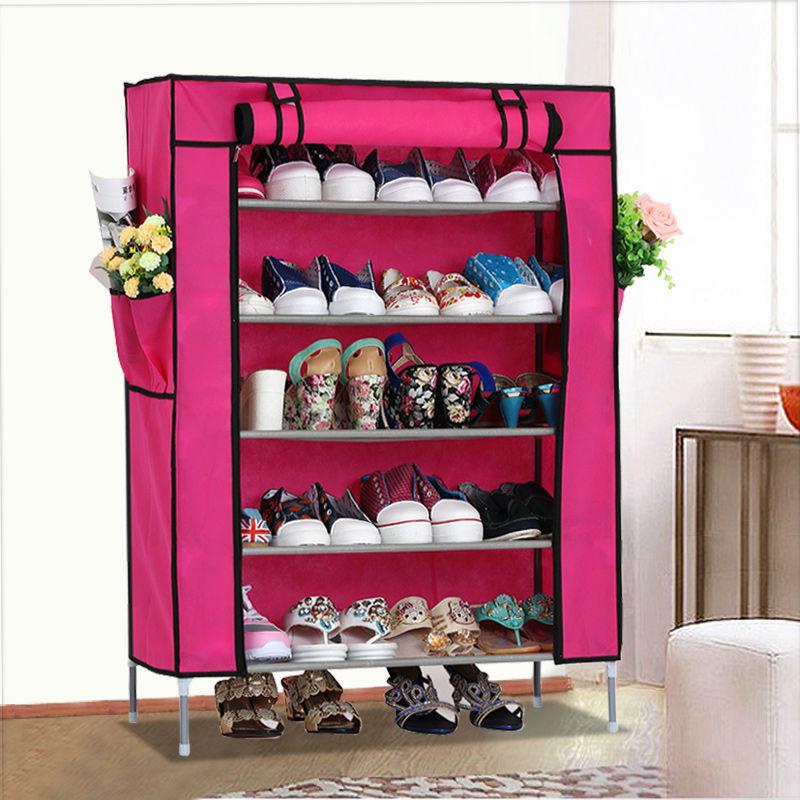 Portable pliant non tiss ikea meubles tag re chaussures 5 niveaux chaud - Ikea etagere chaussures ...