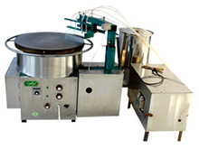 Cast Iron Electric Single Automatic Crepe Machine