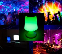 LED ball with bluetooth speaker for home/bar/party music enjoy