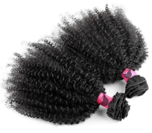 New Peruvian clip in 4A 4B 4C curly weave afro kinky human hair 100g