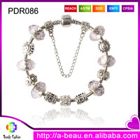 PDR087 2014 European and American Popular Jewelry Fashion Star Style Rhinestone Chamilia Beaded Bracelets