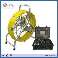Heavy-duty sewer pipe and wall inspection camera in pipe inspection camera