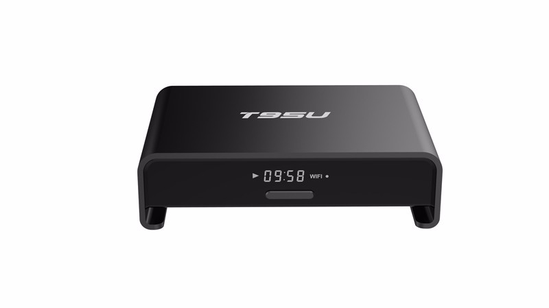 Android Smart TV Box Full HD Media Player T95U Pro S912 2G/16G 2.4&5 GHz Dual WiFi AD player Smart TV