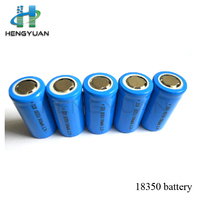 AW 18350 battery 18650 2000mAh battery 3.7V high drain Rechargeable LiMn battery for e-cig