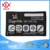 personalized woven clothing labels wholesale