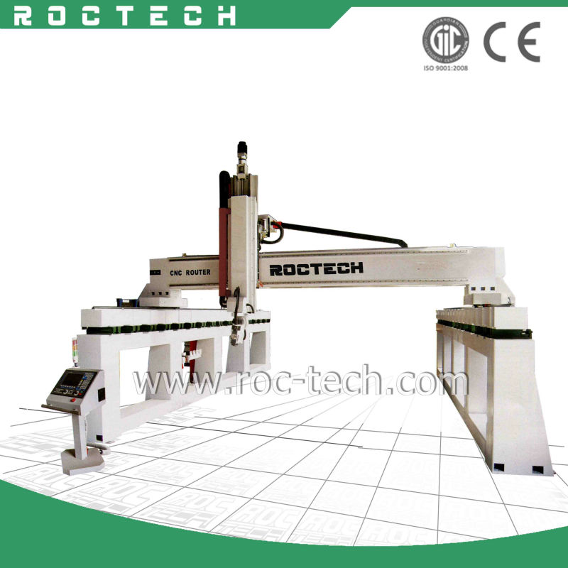 foam cutting/ cnc router machine for car mould RCF2560 Russia