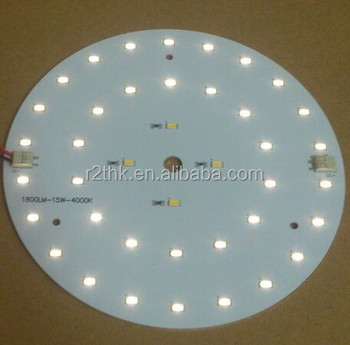 UL&Rohs Shenzhen PCB & PCBA Design Panel Light Aluminium LED Board PCBA Assembly