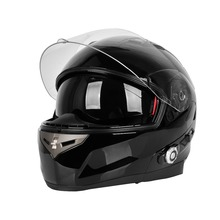 Cycling Helmet Safety Motorcycle Helmet with Built-in Bluetooth