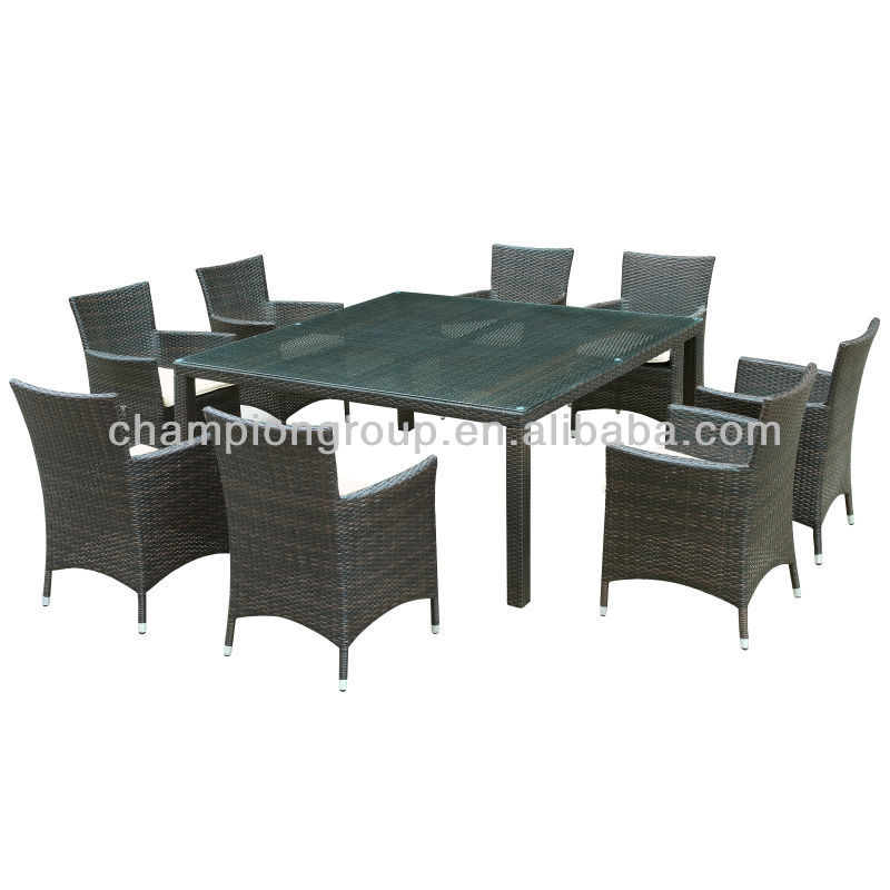 Bella Vista 6 chairs 1 table rattan dining set --- factory wholesale price