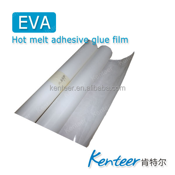 Kenteer EVA hot melt heat transfer adhesive films/ Used in knitted fabrics
