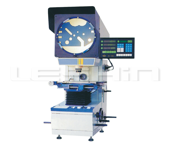 precision component optical comparator
