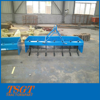 2.4m working width tractor mounted 3 point linkage box scraper blade