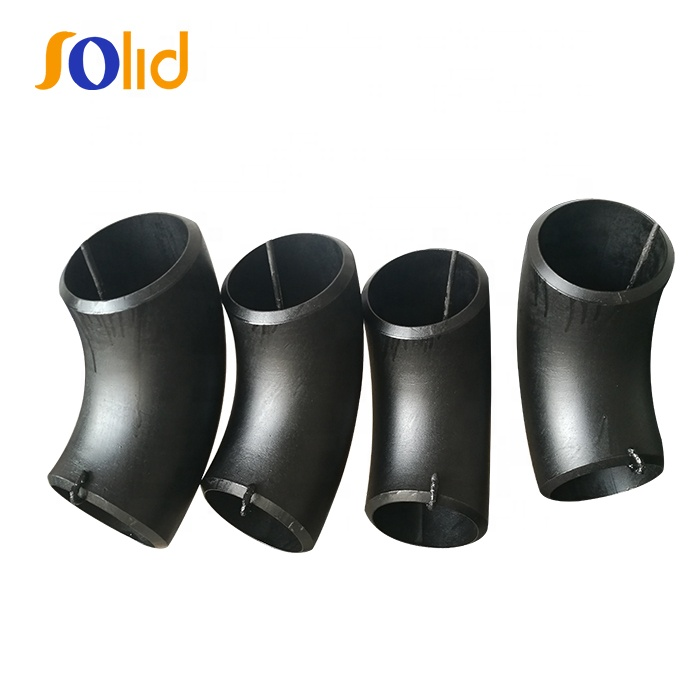 ANSI B16.9 Carbon Steel Butt Welded 90 Degree Elbow Pipe Fittings